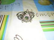 Женский, красивый, оригинальный, металл-ий, под серебро, браслет