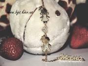 Подарок на рождение ребенка молодой маме Золотой мамин браслет