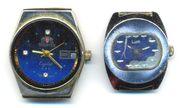 Часы наручные механические «Oreintex Сrystal» и «Луч»
